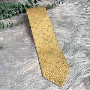 Gucci men's silk GG Tie